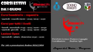 corsi beach volley fregene roma