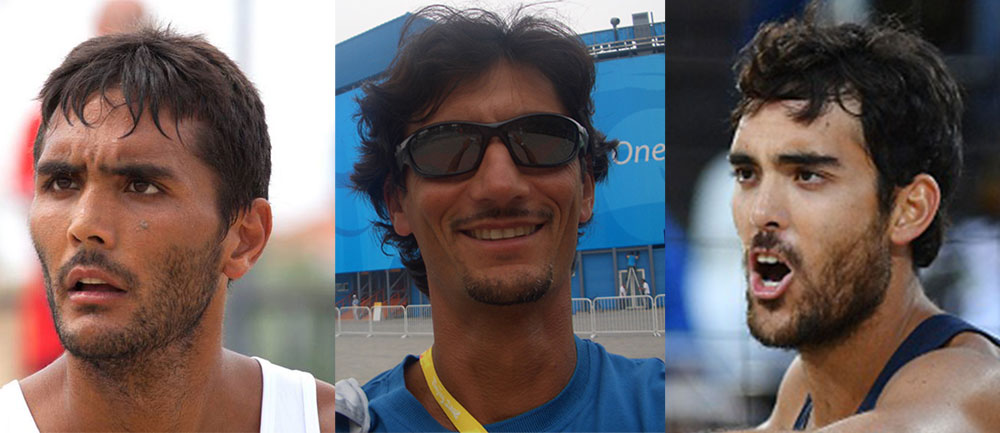 Andrea Dionisio e Daniele - il Team I-Beach