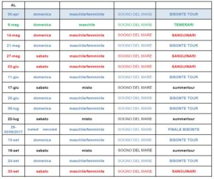 calendario tornei IBEACH 2017