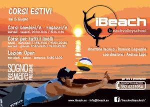 corsi beachvolley roma fregene